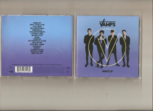 the vamps - wake up - cd - maceo-disqueria