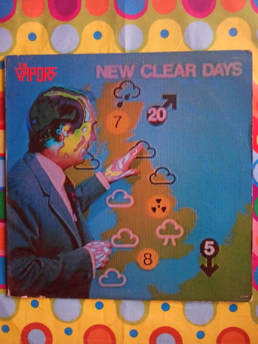 the vapors lp new clear days 1980 con incer