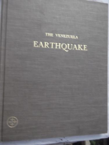 the venezuela earthquake 1967 en ingles tapa dura ilustrado