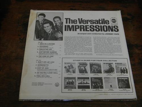 the versatile impressions