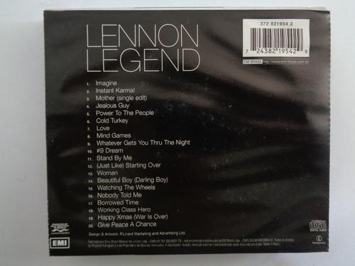the very best of lennon legend cd