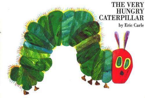 the very hungry caterpillar - ladybird