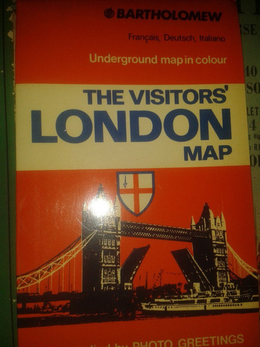 the visitors london map