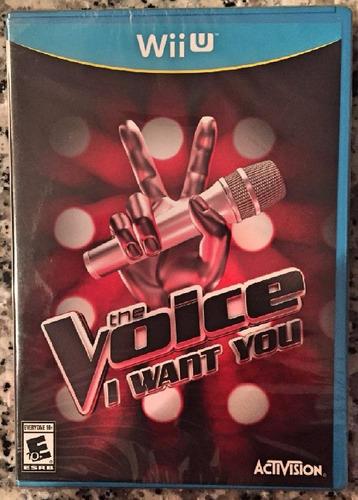 the voice i want you wii u + envio gratis