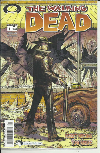 the walking dead # 1 image,editora vuk
