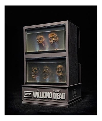 the walking dead 3ª temporada gift set bluray aquário