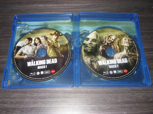 the walking dead 3d dvd blu-ray temporada 1-2-3-4 español