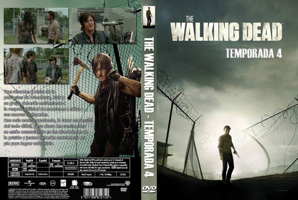 The Walking Dead - 4ra Temporada - $ 100,00 en Mercado Libre