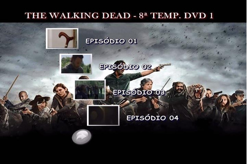 the walking dead 8ª temporada dublado legendado frete grátis