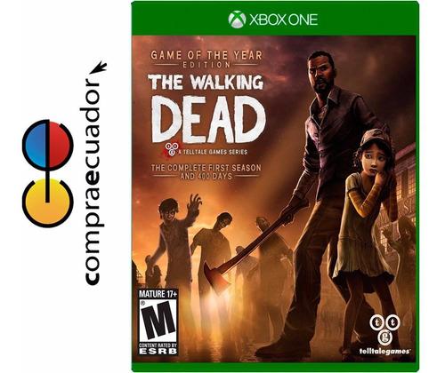 the walking dead: complete season 1 xbox one sellados nuevos