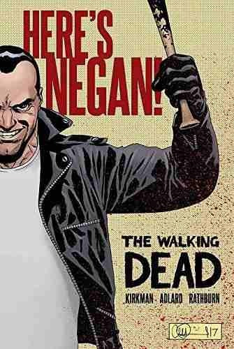 the walking dead: here's negan charlie adlard , by (artist)