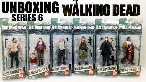 the walking dead mcfarlane temporada figuras deluxe muñeco