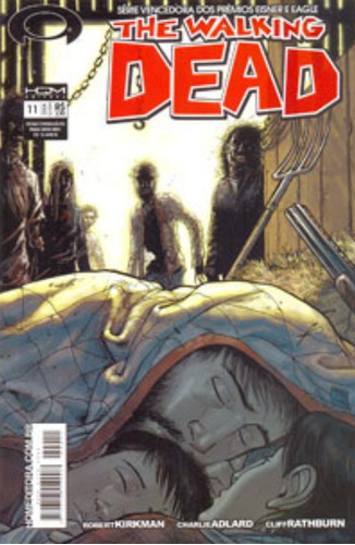 the walking dead nº 11 a hq que deu origem ao seriado perfei
