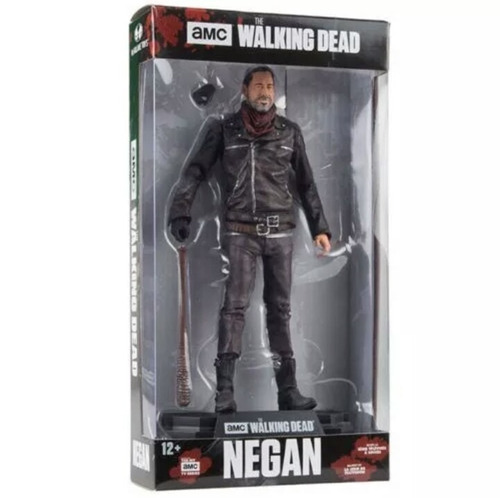 the walking dead: negan, com 18 centímetros.