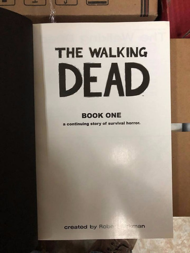 the walking dead pasta dura book one