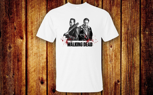the walking dead playera