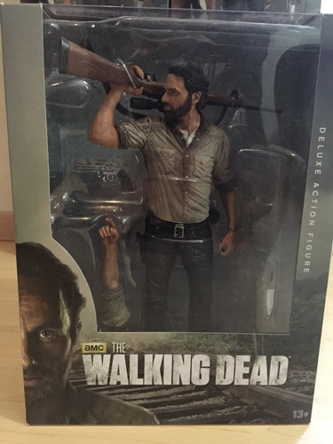 the walking dead rick grimes 10inch 25cms amc deluxe