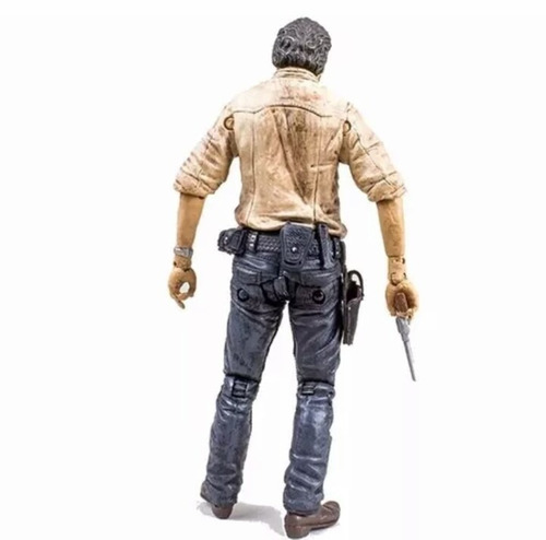 the walking dead rick grimes - mcfarlane toys