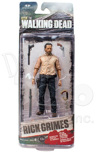 the walking dead - rick grimes - series 6 - mcfarlane toys