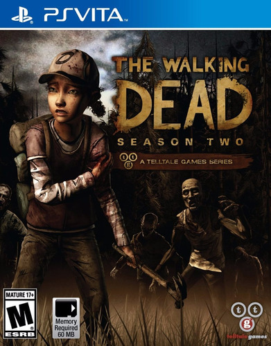 the walking dead season 2 ps vita físico sellado nuevo