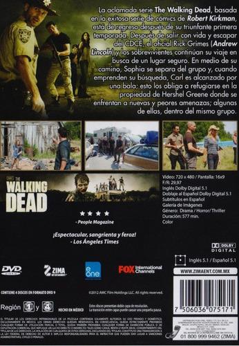 the walking dead segunda temporada 2 dos dvd