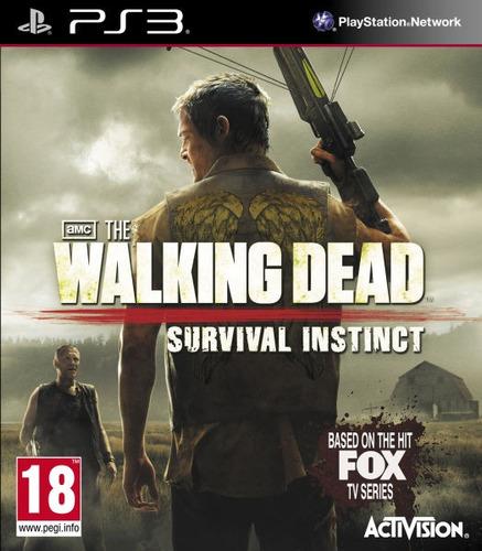 the walking dead: survival instinct ps3 entrega inmediata