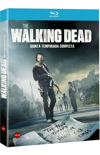 the walking dead temp 5 blu ray