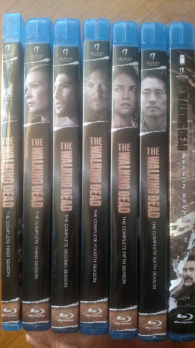 the walking dead temporada 1-8 bluray