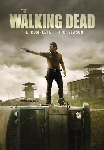 the walking dead temporada 3 dvd