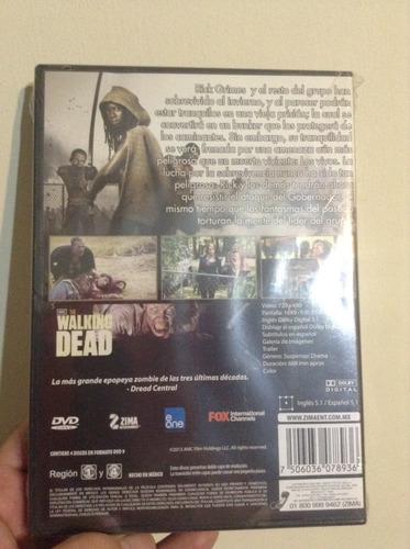 the walking dead temporada 3 dvds