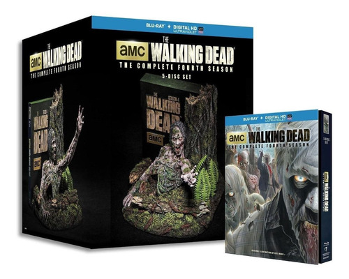 the walking dead temporada 4 boxset limited edition blu-ray