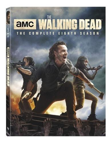 the walking dead - temporada 8 - dvd!