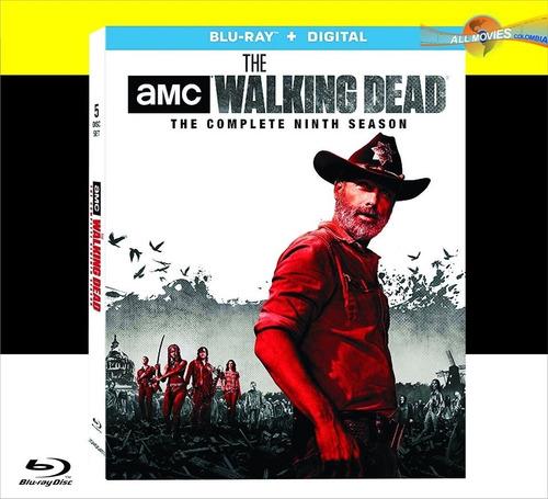 the walking dead temporada 9  blu-ray original!!