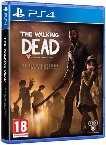 the walking dead: the complete first season ps4 fisico nuevo