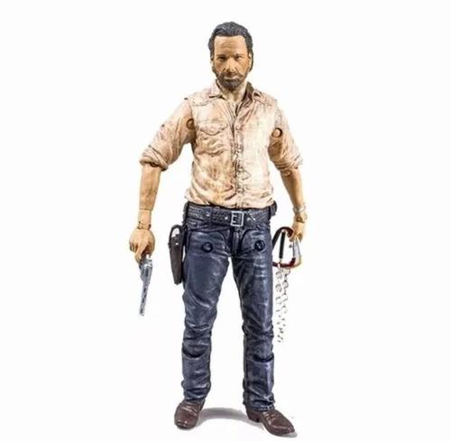 the walking dead tv série 6 : rick grimes - mcfarlane toys