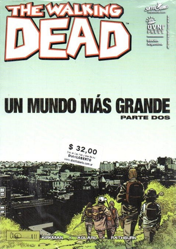 the walking dead - un mundo mas grande 1 2 y 3 completo ovni