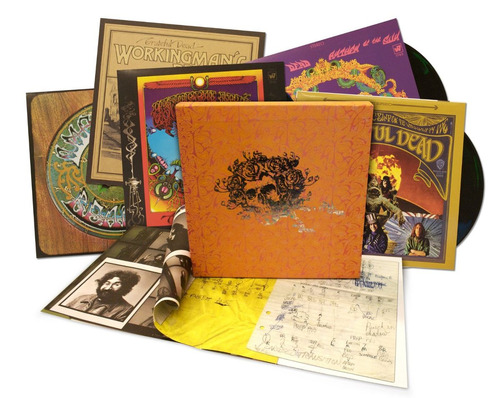 the warner bros. studio albums (5lp 180 gram vinyl boxset)
