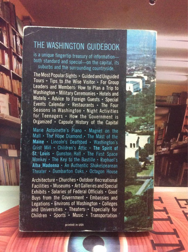 the washington guidebook. john walker. guía. viajes