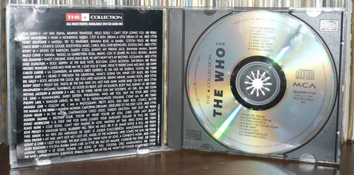 the who cd live the who the collection