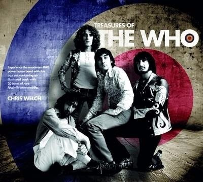 the who - libro scrapbook treasures of the who imperdible!!!