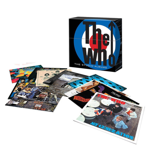 the who los álbumes de estudio en vinil por primera vez