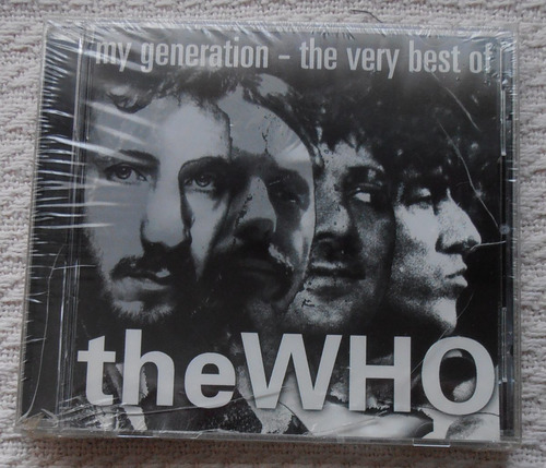 the who - my generation the very best c d ed. u s a nuevo