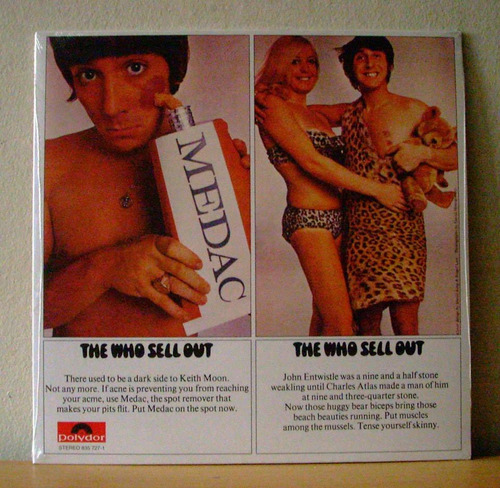 the who the who sell out(vinilo nuevo sellado)