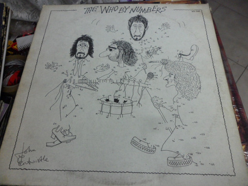 the who vinyl l.p. de 12 by numbers