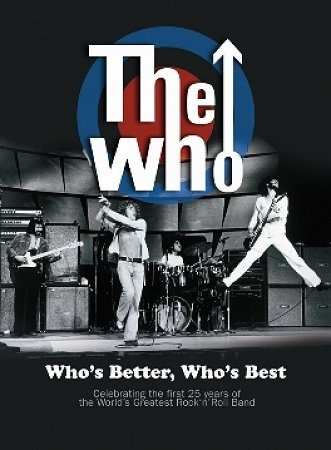the who - who is better, who is best...dvd