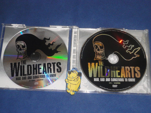 the wildhearts - mad,bad and dangerous to know(cd+dvd!!!)