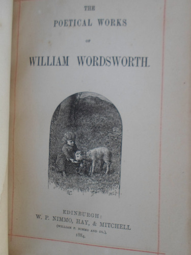 the william wordsmorth poetical works - 1884
