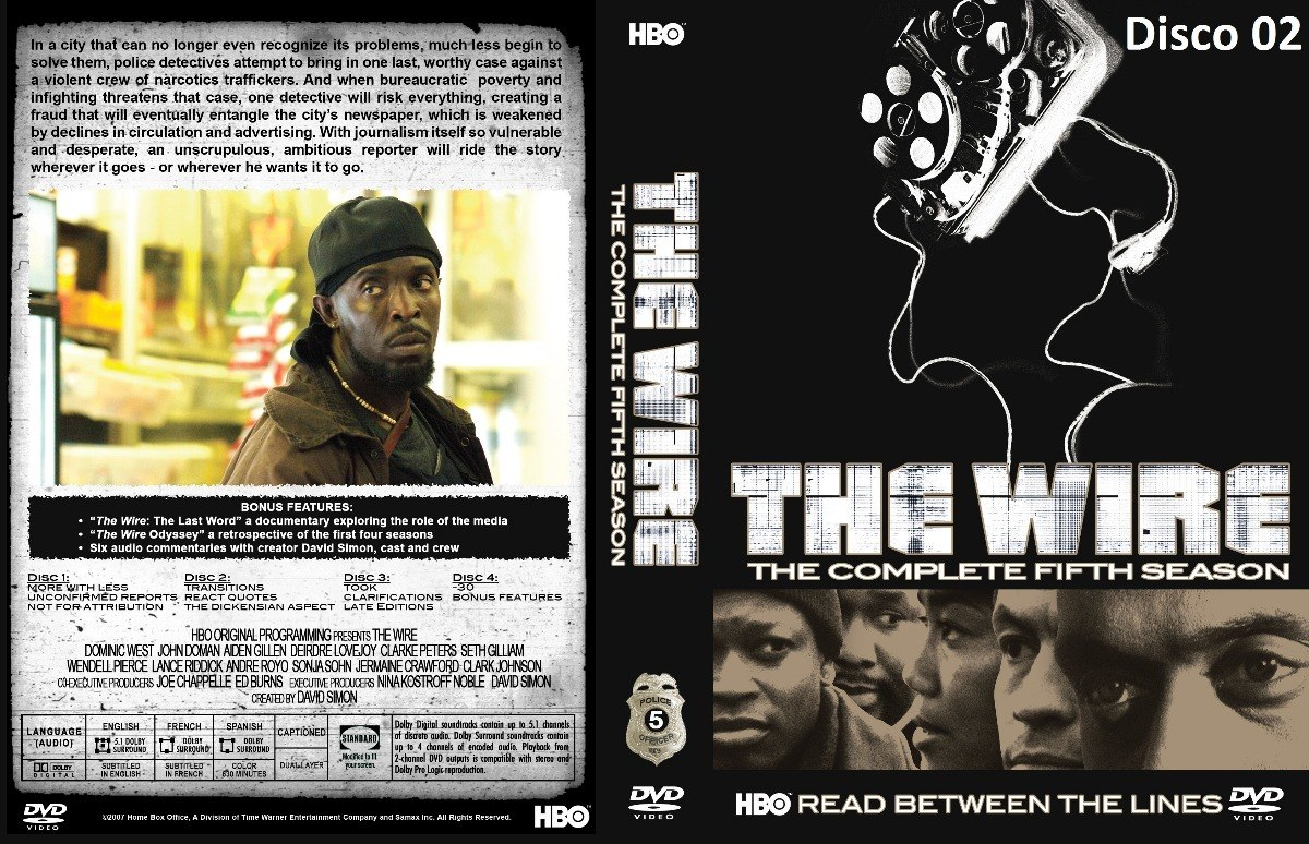 The Wire - As 5 Temporadas Completas - Legendado