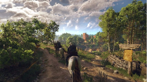 the witcher 3 complete  edition ps4. físico. todos los dlc