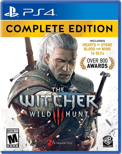 the witcher 3 wild hunt / complete edition / ps4